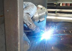 Custom steel fabrication services
