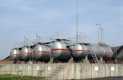 Cylindrical LPG Tank And LNG Storage Spherical Tank