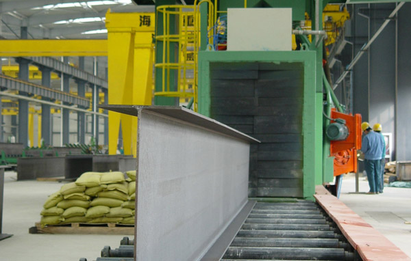 Conveyor System of Steel Fabrication Line