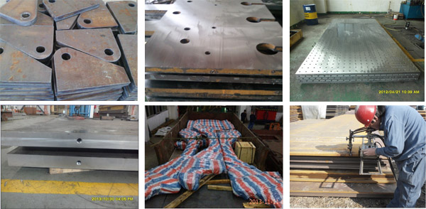 Steel Plate Processing According to Your Demand
