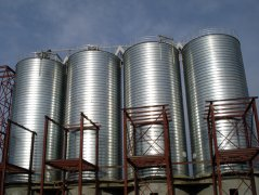 Thin-Walled Steel Grain Silo-Well Storage of Grain