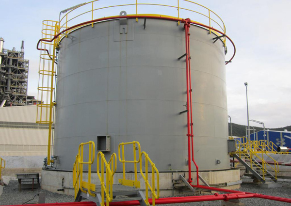 Vertical Steel Tank For Oil Storage