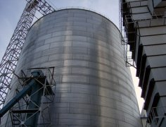 Steel Grain Silo Used For Food Storage And Transportation